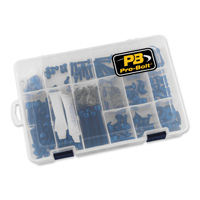 Pro-Bolt 200PC Blue Aluminum Metric Hardware Assortment