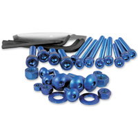 Pro-Bolt 25PC Blue Aluminum Metric Hardware Assortment