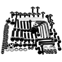 Pro-Bolt 50PC Black Aluminum Metric Hardware Assortment
