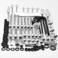 Pro-Bolt 50PC Silver Aluminum Metric Hardware Assortment