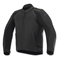 Alpinestars Men's Devon Airflow Black Leather Jacket