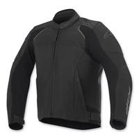 Alpinestars Men's Devon Airflow Black Leather Jacket