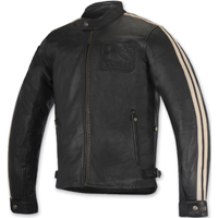 Alpinestars Oscar Men's Charlie Black Leather Jacket