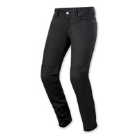 Alpinestars Women's Daisy Black Denim Jeans