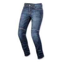 Alpinestars Women's Daisy Dark Rinse Denim Jeans