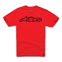 Alpinestars Men's Blaze Red/Black T-Shirt