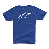 Alpinestars Men's Ageless Blue/White T-Shirt