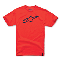 Alpinestars Men's Ageless Red/Black T-Shirt