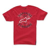 Alpinestars Men's Scan Red T-Shirt