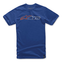 Alpinestars Men's Harsh Royal Blue T-Shirt