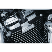 Kuryakyn Precision Spark Plug Covers Chrome