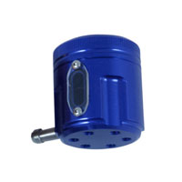 PSR-USA Blue Aluminum Front Brake Reservoir