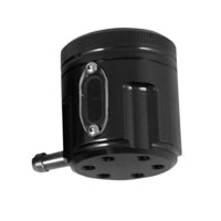 PSR-USA Black  Aluminum Front Brake Reservoir