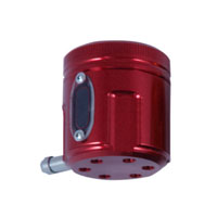 PSR-USA Red Aluminum Front Brake Reservoir