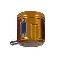PSR-USA Gold Aluminum Front Brake Reservoir