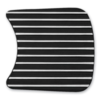 Kuryakyn Finned Primary Inspection Accent Cover Black