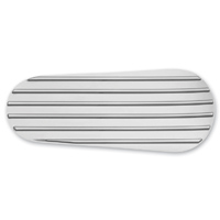 Kuryakyn Finned Primary Inspection Accent Cover Chrome