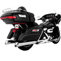 Vance & Hines Monster V Slip On Mufflers Chrome