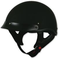 Torc T53 Flat Black Half Helmet
