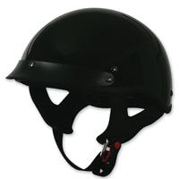 Torc T53 Gloss Black Half Helmet