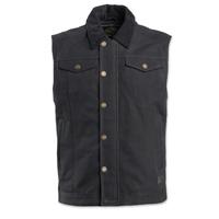 Roland Sands Design Men's Ramone Black Textile Vest