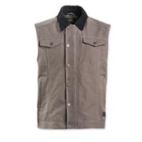 Roland Sands Design Men's Ramone Charcoal Textile Vest