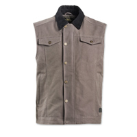 Roland Sands Design Men's Ramone Charcoal Textile Vest