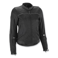 Highway 21 Women's Aira Black Mesh Jacket
