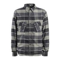 Roland Sands Design Men's Gorman Black/Charcoal Button Down Shirt