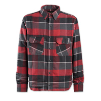Roland Sands Design Men's Gorman Brick Red Button Down Shirt