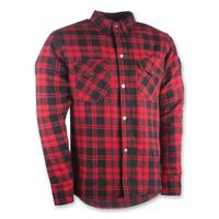 Highway 21 Men's Marksmen Red/Black Button-Down Jacket