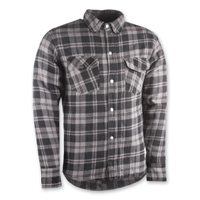 Highway 21 Men's Marksmen Gray/Black Button-Down Jacket
