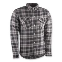 Highway 21 Men's Marksmen Gray/Black Button-Down Jacket