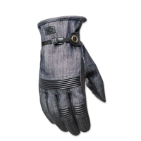 Roland Sands Design Men's Launch Indigo Denim Gloves