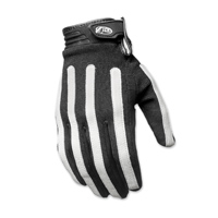 Roland Sands Design Men's Strand Black/White Gloves
