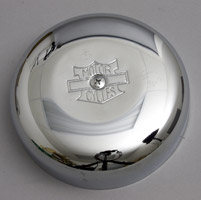 J&P Cycles® Classic Round Air Cleaner Assembly