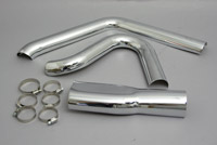 Bassani 3-Piece Heat Shield Set for Road Rage 2-into-1 Exhaust
