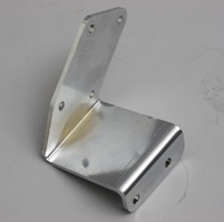 V-Twin Manufacturing Radii 2″ Side Viper Exhaust Mounting Bracket