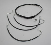 Burly Brand Apehanger Cable/Line Kits for Street Glide