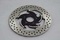 Xtreme Machine Challenger Black Cut Front Right Disc Brake Rotor