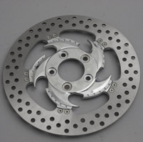 Xtreme Machine Challenger Chrome Rear Right Disc Brake Rotor