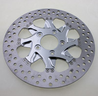 Xtreme Machine Turbo Chrome Front Left Disc Brake Rotor