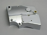 Chrome Sprocket Cover for Electric Start