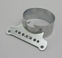 Single Gauge Chrome Bracket