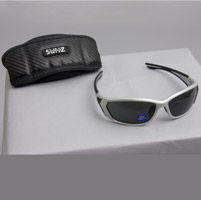 BANGERZ Baffle Silver and Black Sunglasses