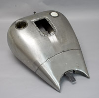 One Piece Stretched Gas Tank
