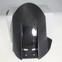 Carbon Fiber Works Rear Fender
