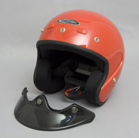 Cyber U-6 Red Open Face Helmet