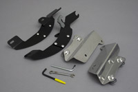 Memphis Shades Batwing Fairing Trigger-Lock Mounting Kit for Kawasaki