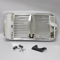 Show Chrome Accessories Celestar Radiator Grille for Honda VTX1800